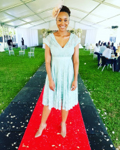 Claire Mawisa Beautiful Blue Dress.jpg