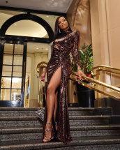 Bonang Matheba Beautiful Shiny Dress.jpg